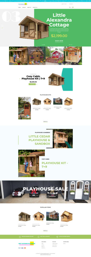 Best Outdoor Play Houses